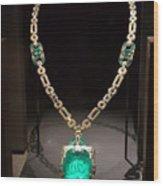 Emerald Prize Wood Print