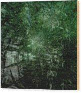 Emerald Wood Print