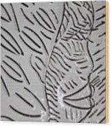 Emergence - Tile Wood Print