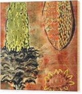 Emerging Sago Wood Print