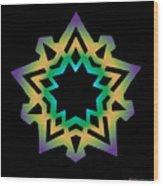 Emerson Star Wood Print