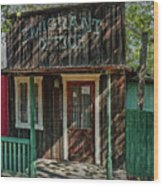 Emigrant Office Wood Print