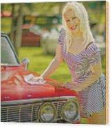 Emily #2 Royal Holden Wood Print