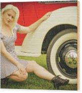 Emily #5 Royal Holden Wood Print