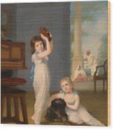 Emily And George Mason Wood Print