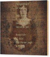 Emily Dickinson 4 Wood Print