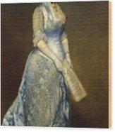 Emma Cecilia Thursby Wood Print