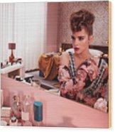 Emma Watson Wood Print