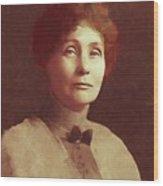 Emmeline Pankhurst, Suffragette Wood Print