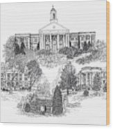 Emory And Henry College Wood Print