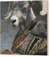 Emperor Jstor Jax Wood Print