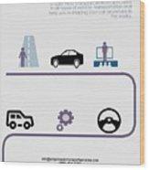 Empire Auto Transport Services Wood Print