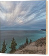 Empire Bluffs 5 Wood Print