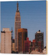 Empire State 2 Wood Print