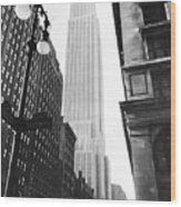 Empire State Building, 1931 Wood Print