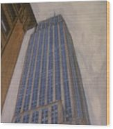 Empire State Building 2 Wood Print
