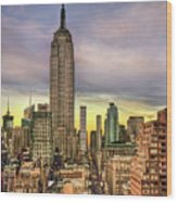 Empire State Of Mind Wood Print