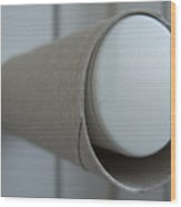 Empty Toilet Paper Roll Wood Print