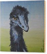 Emu 2 Wood Print