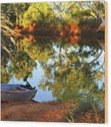 Emu Creek Station 2am-111427 Wood Print