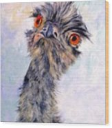 Emu Twister Wood Print