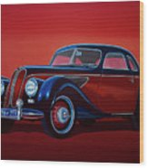 Emw Bmw 1951 Painting Wood Print