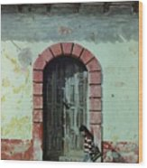 En Calle Ejercito Nacional Wood Print