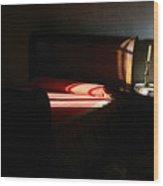 En La Casa De Estudillo Wood Print