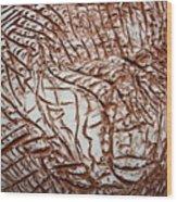 Encased - Tile Wood Print