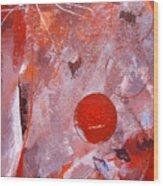 Encased In Red Wood Print