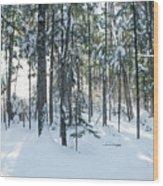 Enchante Wood Print