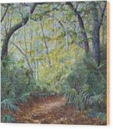 Enchanted Bend Wood Print