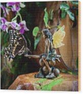 Enchanted Encounters Wood Print