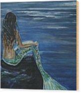 Enchanted Mermaid Wood Print