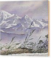 Enchanted Mountain Wood Print