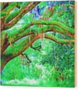 Enchanting Wood Print