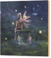 Enchantment - Fairy Dreams Wood Print