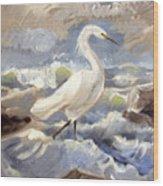 Endangered Wood Print