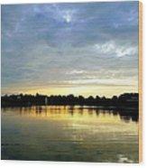 Edinboro Lake Wood Print