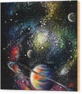 Endless Beauty Of The Universe Wood Print