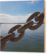 Endless Chain Of Hope  Wood Print