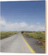 Endlkess Road  Wood Print