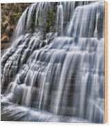 Lower Falls #4 Wood Print