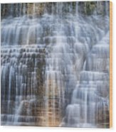Lower Falls Cascade #1 Wood Print