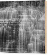 Lower Falls Cascade #2 Wood Print