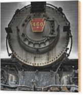 Engine 460 Front And Center Wood Print