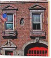 Engine 50 - Boston Wood Print