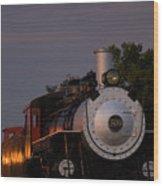 Engine 509 Wood Print