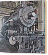 Engine 542 Embossed Wood Print