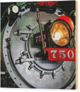 Engine 750 Wood Print